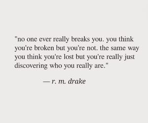 broken, discover, and Drake image
