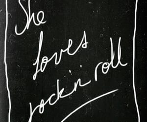 black, quotes, and rock image