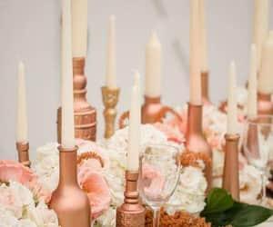 decoration, wedding goals, and flowers image