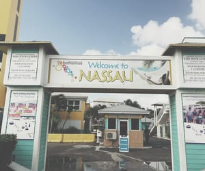 adventure, bahamas, and sign image