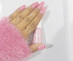 barbie, beauty, and nail art image