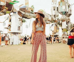 beautiful, festivals, and boho image