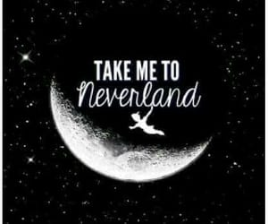 dreamer, neverland, and peter pan image
