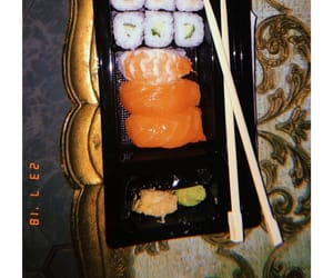 Late, snack, and sushi image