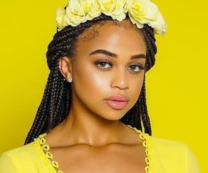 yellow, black, and melanin image