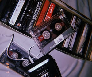aesthetic, cassette tape, and cassette tapes image