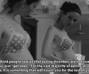anorexic, eating disorder, and hate me image