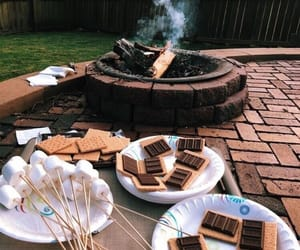 barbecue, chocolate, and cookie image
