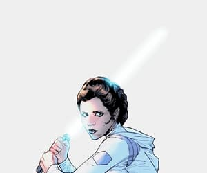 comics, star wars, and lightsaber image