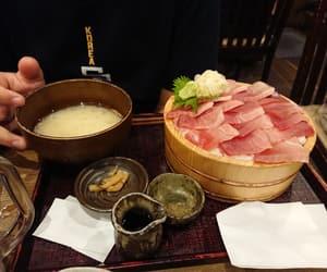 japan, sashimi, and travel image