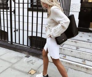 Alexander McQueen, beauty, and blonde image