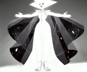 white diamond and steven universe image