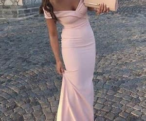 evening dress, formal dress, and prom dress image