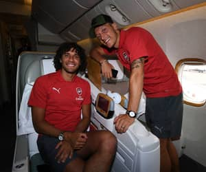 Arsenal, afc, and mohamed elneny image