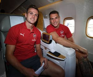 Arsenal, afc, and aaron ramsey image