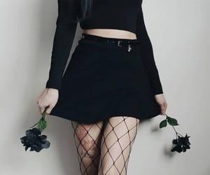 black and skirt image