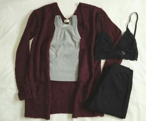 cozy, outfit, and school image