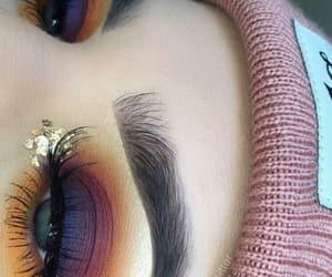beauty, rainbow, and eyes image