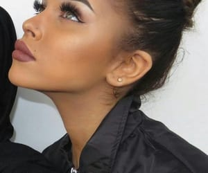 fille, girl, and makeup image