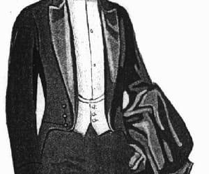 1920s, menswear, and tuxedo image
