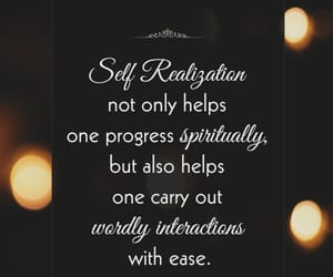mindfulness, spiritual quotes, and self realization image