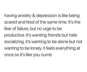 quotes, anxiety, and depression image