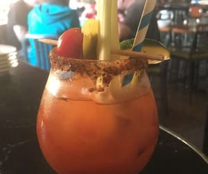 drinks, summer, and bloody mary image