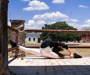 backbend, flexibility, and flexible image