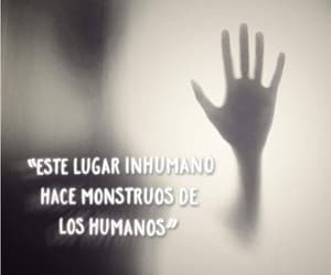 cruel, humanos, and frases image