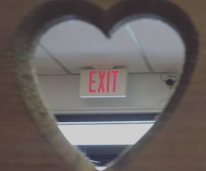 exit, heart, and esthetic image