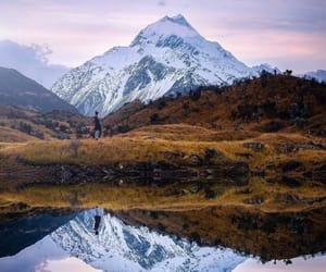 free, lake, and mirror image