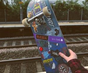 boards, skateboarding, and skate image