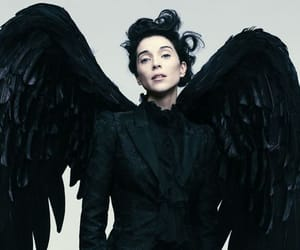 Alexander McQueen, annie clark, and demon image