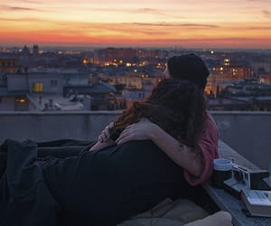 couple, dawn, and morning image