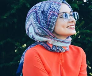 hijab and smile image