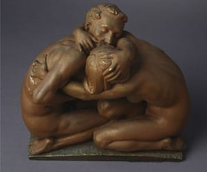 art, sculpture, and love image