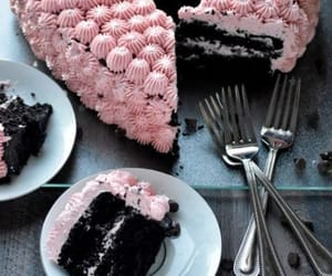 cake, chocolate, and delicious image