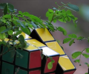 cube, cubo magico, and nature image