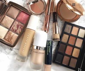 blush, Brushes, and eyeshadow image