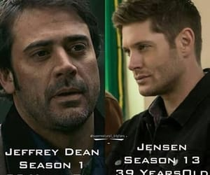 cast, dean winchester, and fandom image