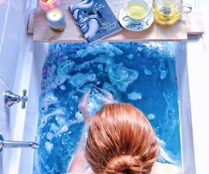 bath, beauty, and bathbomb image