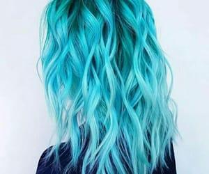 baby blue, aquamarine, and beauty image