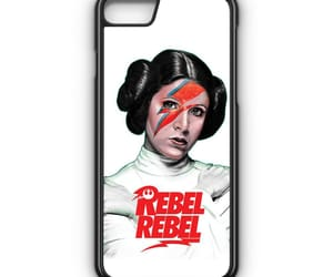 phone cases, iphone 7 case, and rebel rebel princess leia image