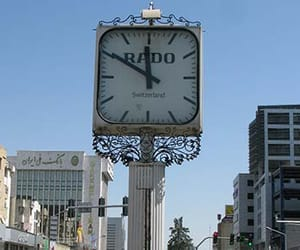 tower clocks, pillar clocks, and floral clocks image