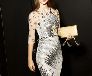 fashion, sequin dress, and cocktail dress image