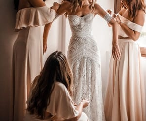 bridal, offwhite, and off white wedding dresses image