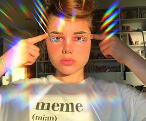 beaty, makeup, and макияж image