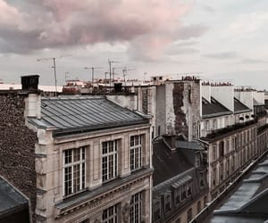 architecture, buildings, and clouds image