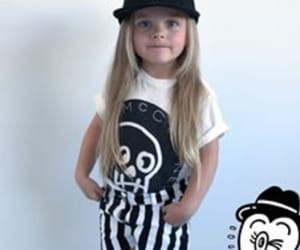 cute child, fashion, and designer clothes image