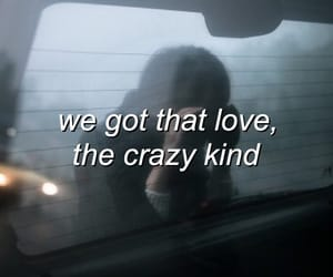 crazy, Lyrics, and him & i image